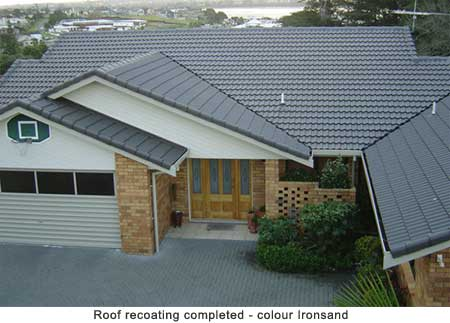 Recoating Concrete Tile Roofs Promain Roofing