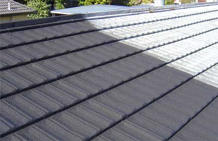 Recoating Decramastic Tile Roofs Promain Roofing
